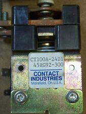 CONTACT INDUSTRIES CT100A-24D1 45RG92-300