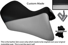 BLACK & LIGHT GREY CUSTOM FITS BMW R 1200 RT FRONT SEAT COVER FOR A LOW SEAT