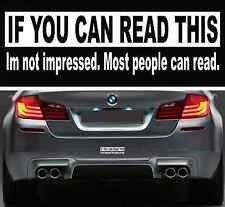 Funny If You Can Read This Bumper Sticker Vinyl Decal Car Sticker For Jeep Ford