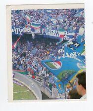 figurina CAMPIONI E CAMPIONATO 90/91 1990/91 numero 243 NAPOLI TIFOSI