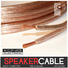 KÖNIG 2.5mm² OFC Loud Speaker Cable Oxygen Free Copper 14AWG audio wire KONIG 1m