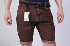 BRAND NEW D2 SHORT DSQUARED MEN'S JEANS WITH GIFT BELT SIZE 31