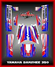 Yamaha Banshee 350 yfm350 twin  SEMI CUSTOM GRAPHICS KIT Newjack1
