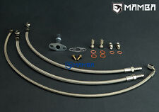 MAZDA MIATA MX-5 323 GTX w/ IHI RHB5 VI58 turbo oil & water line kit