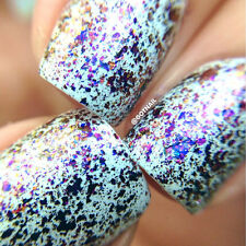 "Polish Me Silly ""Sparks"" Flakie Topcoat Polish glitter nail polish"