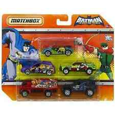 Matchbox Batman The Brave and The Bold 5 Pack Cars