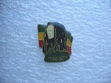 PIN'S FREEDOM REGGAE RASTA JAMAIQUE MUSIQUE JAMAICA MUSIC BOB PINS PIN S18