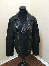True Religion Leather Men's Moto Jacket. SZ-M NEW WITH TAGS (Lamb skin) Fashion