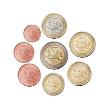 Lithuania 1 cent - 2 Euro loose coin set 2015 - UNC