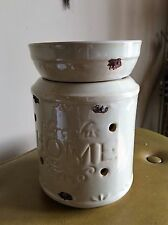 BLESS THIS HOME Ceramic Oil and Wax Tart Electric Warmer