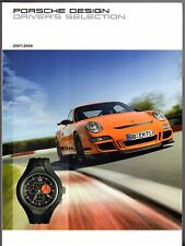 Porsche Design Driver's Selection Merchandise 2007-08 UK Market Sales Brochure
