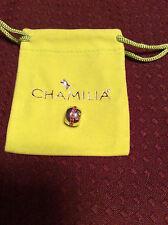 Brand new Chamilia COSMO FUCHIA SWAROVSKI sterling silver charm 2025-0780