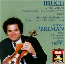 Itzhak Perlman - Bruch: Violin Concerto No. 2 & Scottish Fantasy (CD, EMI) LN