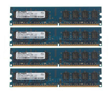 Elpida 4X 2GB DDR2 2RX8 PC2-6400U 800 MHz 240PIN DIMM intel RAM Desktop memory