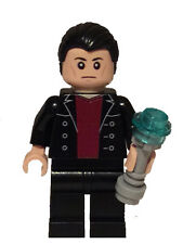 Lego DR WHO 9th Doctor Custom Minifig Christopher Eccleston w Sonic Screwdriver