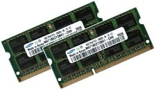 2x 4GB 8GB DDR3 RAM 1333Mhz MSI Notebook A6400 Series Samsung