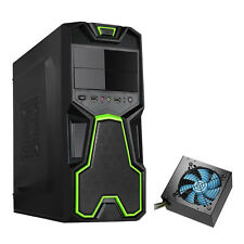 DYNAMODE LOCKSTOCK GC356 BLACK mATX USB 3.0 PC CASE WITH 850W PSU INSTALLED