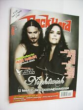 ROCK HARD #12 2011 - NIGHTWISH - SLAYER - DEATH - RAMMSTEIN - OPETH - BEHEMOTH