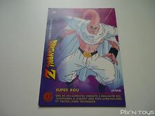 Carte originale Dragon Ball Z Fighting Cards N°24 / Panini 1999 BIRD STUDIO