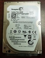 "SEAGATE ST500LM000 500GB SATA 2.5"" LAPTOP THIN SSHD HYBRID Guaranteed TESTE"