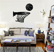 Wall Stickers Vinyl Decal Basketball Sports Ball for Fans Boy Room (ig1502)