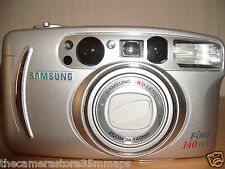 NEW SAMSUNG FINO 140 DLX 35MM FILM CAMERA WITH 38-140MM HIGH DEFINITION LENS B5
