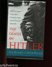 DEATH OF HITLER : THE FINAL WORDS FROM RUSSIA'S SECRET ARCHIVES.  1st US  HB/dj