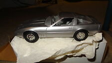 1984 Chevrolet Corvette promo model car, silver. '84 Chevy Vette