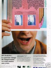 Publicité Advertising 1993 Imprimante HP Hewlett Packard
