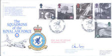 1994 Age of Steam RAF FDC signed CO 70 Hercules Sqn LE BAS
