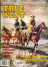 1989 True West Magazine: Edison Western Adventure/Wyatt Earp Father/Bill Hanley