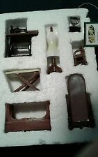 Lot Dollhouse Miniature Furniture accessory Collections etc sewing mirror iron