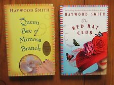 2-HAYWOOD SMITH Signed Books(QUEEN BEE OF MIMOSA BRANCH/THE RED HAT CLUB-1st Edi
