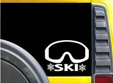 Ski K643 8 inch Sticker mask decal
