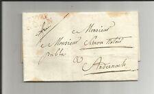 Preussen V / P. 102 P. BONN roter L2 auf Pracht-Brief m. kpl. Inhalt 1806