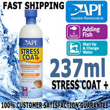 API Stress Coat + Plus Aloe Aqua Aquarium Fish Tank Tap Water Conditioner 237ml