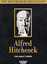 Alfred Hitchcock - The Early Years: 12 DVD Boxed Set (DVD, 2003) New