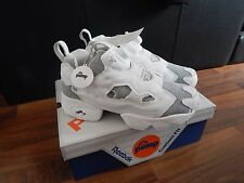 REEBOK INSTA PUMP FURY OG PK WHITE BLACK STEEL UK 6 US 7 BRAND NEW