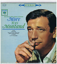 LP MORE YVES MONTAND (U.S. PRESSING)