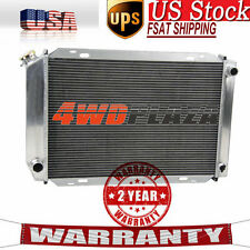 3Row Aluminum Radiator For Ford Mustang  GT/LX 5.0 V8 Manual 1979-1993 80 85 89
