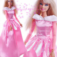 Pink HandMade EARLY National Traditional Dress up Costumes for Barbie  Gift