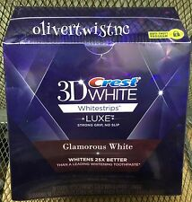 NEW Crest 3D Glamorous White Whitestrips 14 Treatments 28 Strips EXPIRES JAN2018