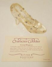 Disney Cinderella Glass Slipper Disneyland Figurine Character Cobbler