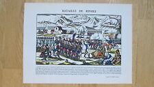 Bataille de Rivoli. Napoléon Bonaparte. Imagerie Pellerin Epinal. TBE
