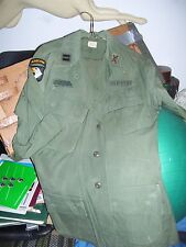 Vintage Army Uniform 101st Airborne Div Jungle Capt Inf