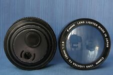 Canon Club Members!!! CANON LENS Desk Lighter & Magnifier,Rare!
