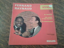 45 tours fernand raynaud n° 16 rire le raciste