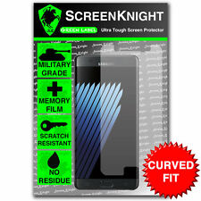 ScreenKnight Samsung Galaxy Note 7 / VII FRONT SCREEN PROTECTOR - CURVED FIT