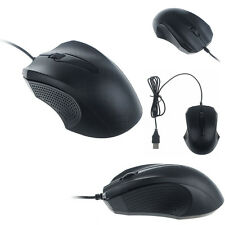 1200 DPI con cable USB Optico Gaming Ratones Mouse portátil PC Ordenador Negro