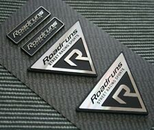 [Kspeed] (Fits all Type Cars) Roadruns Aluminum Emblem SET-1  4 in one